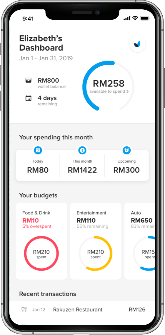 Screenshot of the CIMB Be$MART mobile app, developed for CIMB Foundation, Malaysia, the CSR arm of one of Malaysia's largest financial institutions